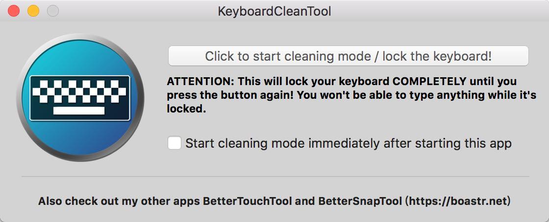 「BetterTouchTool」作者新做了一款Mac键盘清灰软件,还能防猫主子路过